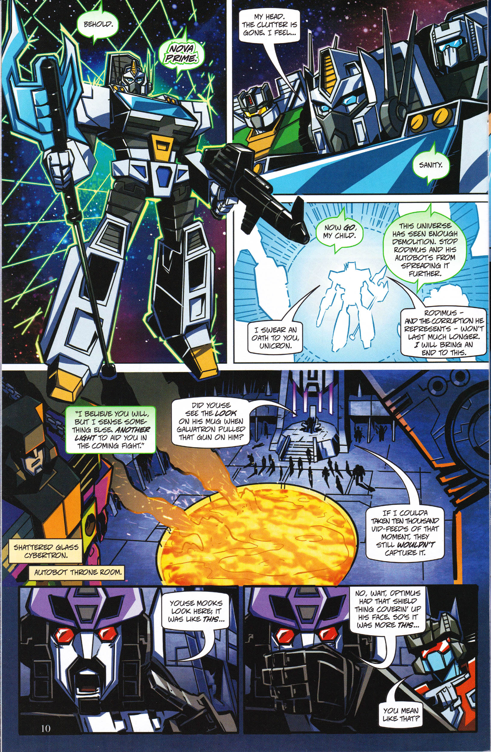 Read online Transformers: Collectors' Club comic -  Issue #65 - 10