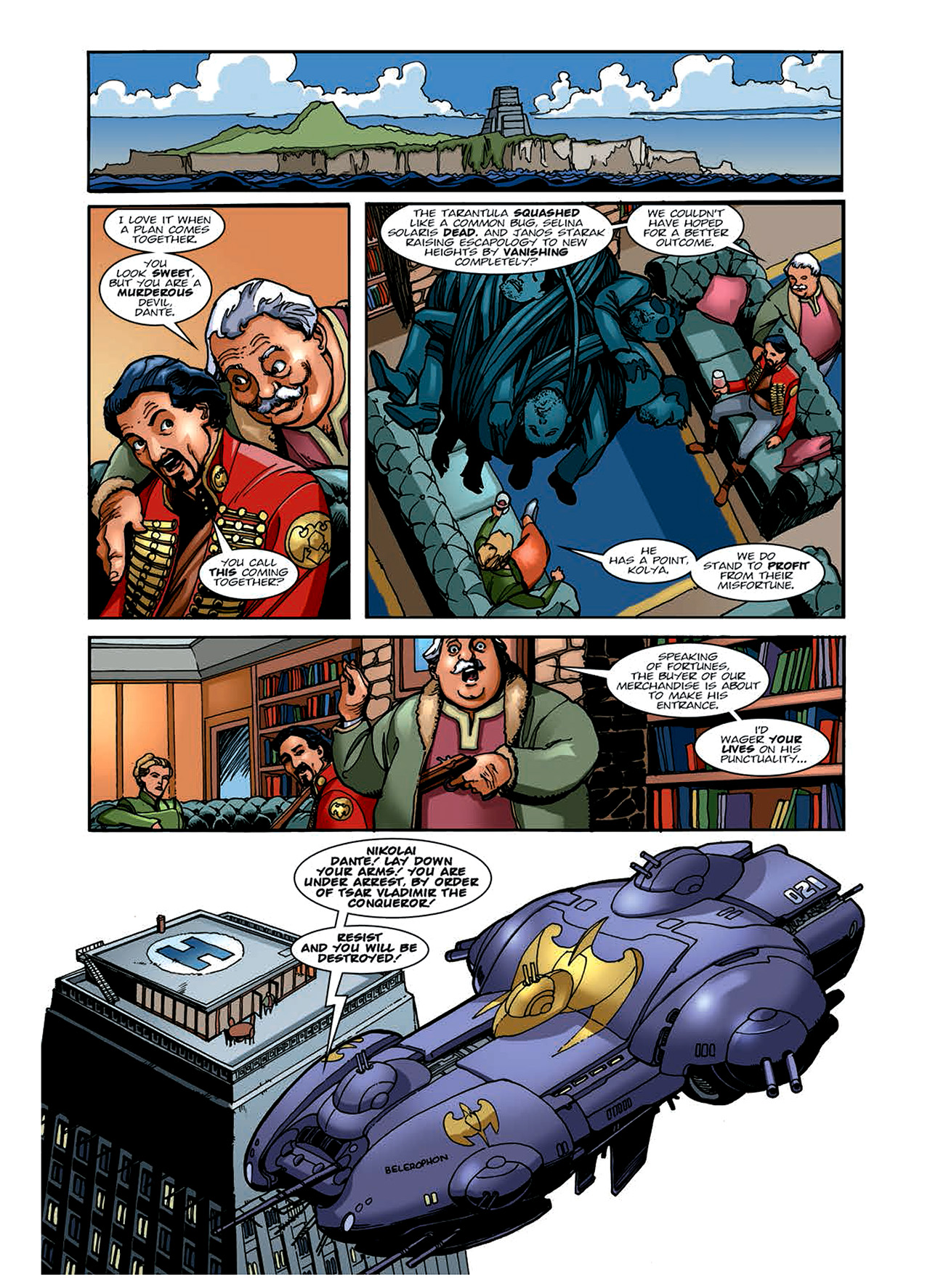 Read online Nikolai Dante comic -  Issue # TPB 6 - 68