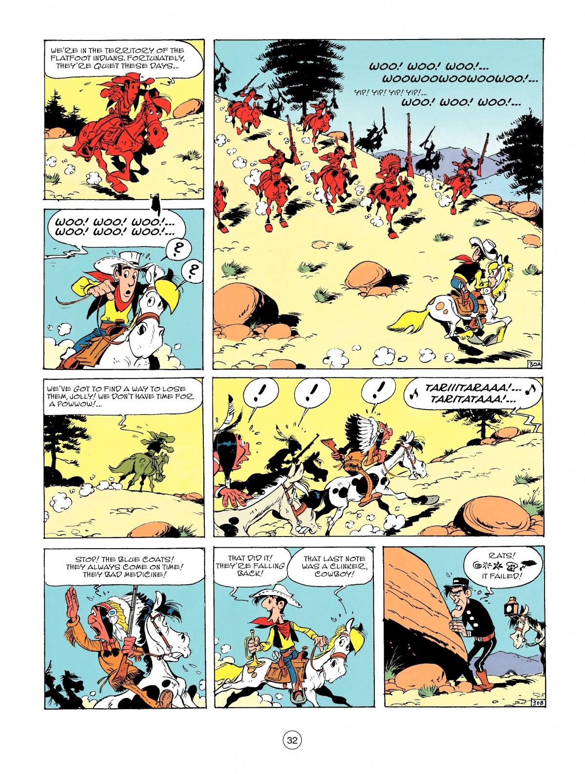 Read online A Lucky Luke Adventure comic -  Issue #46 - 32