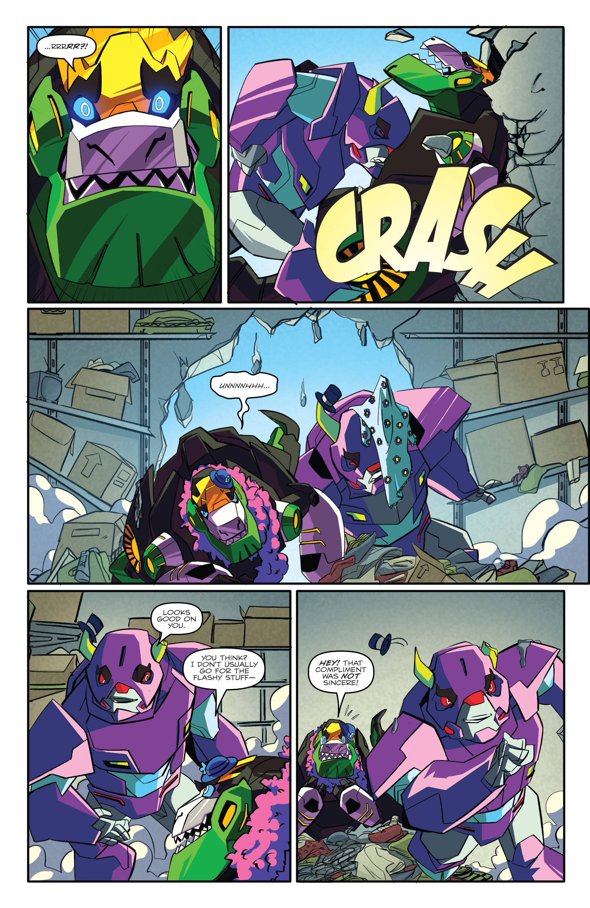 Read online Transformers: Robots In Disguise (2015) comic -  Issue #3 - 14