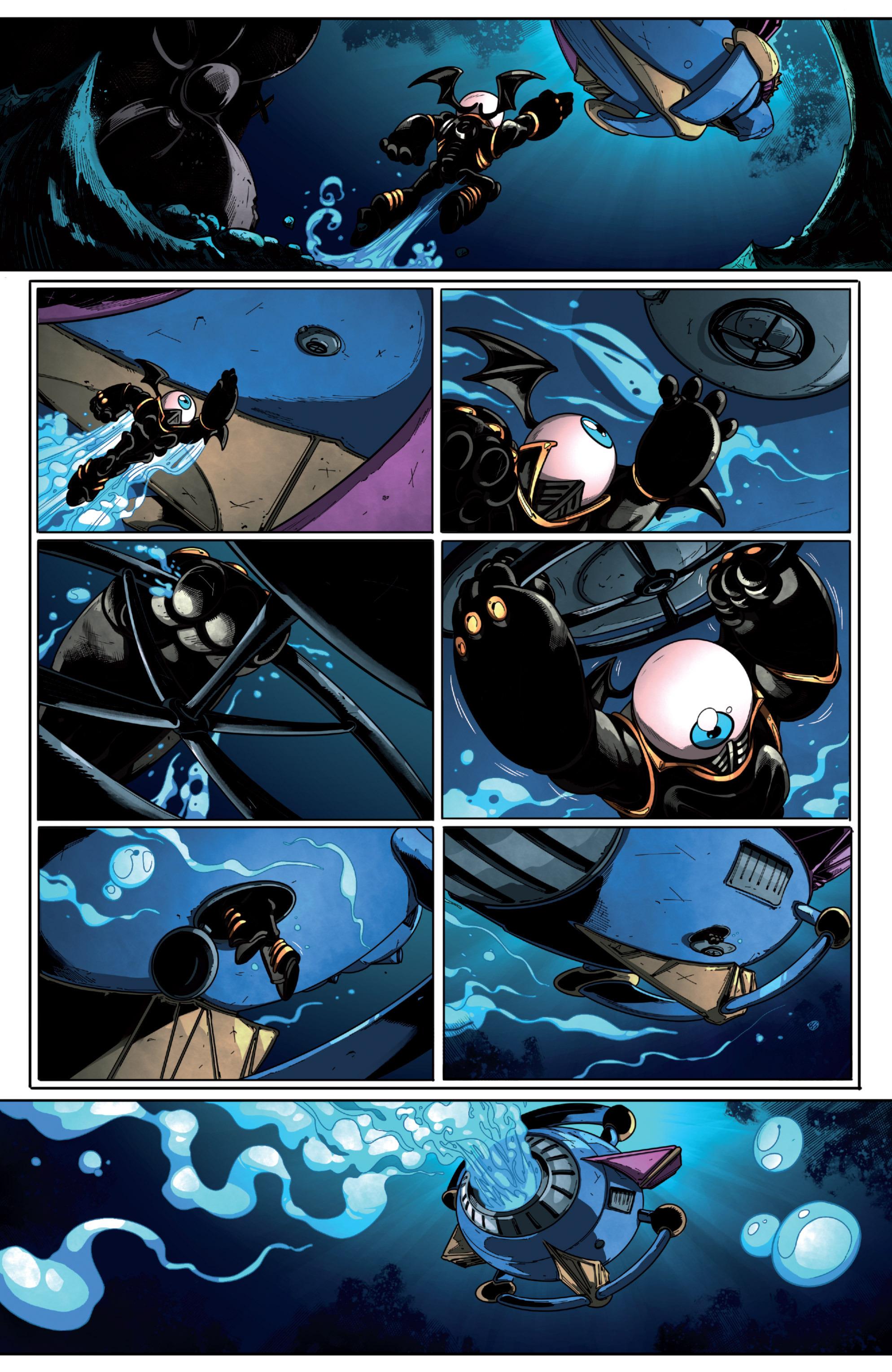 Read online Skylanders Superchargers comic -  Issue #6 - 7