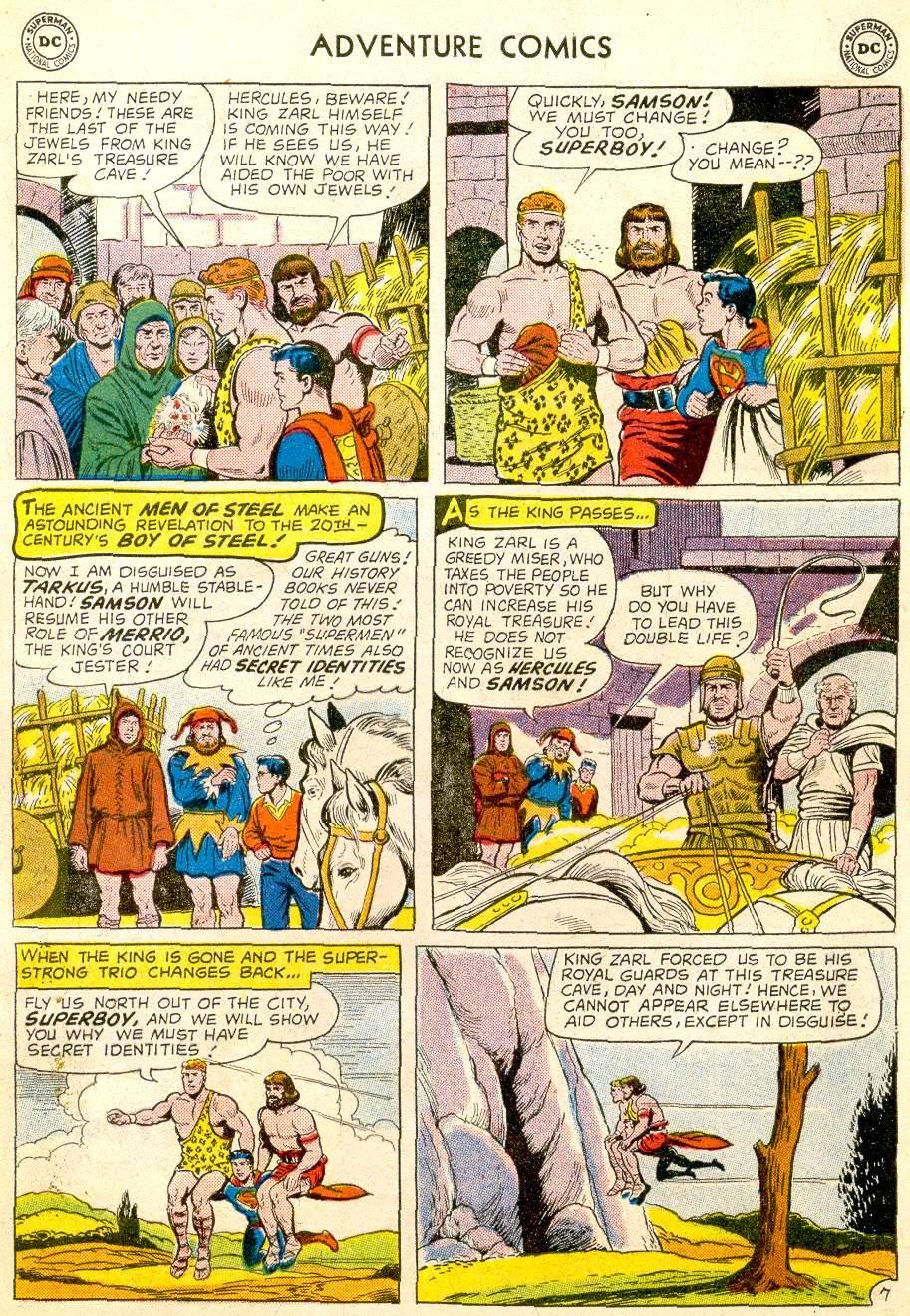 Read online Adventure Comics (1938) comic -  Issue #257 - 9