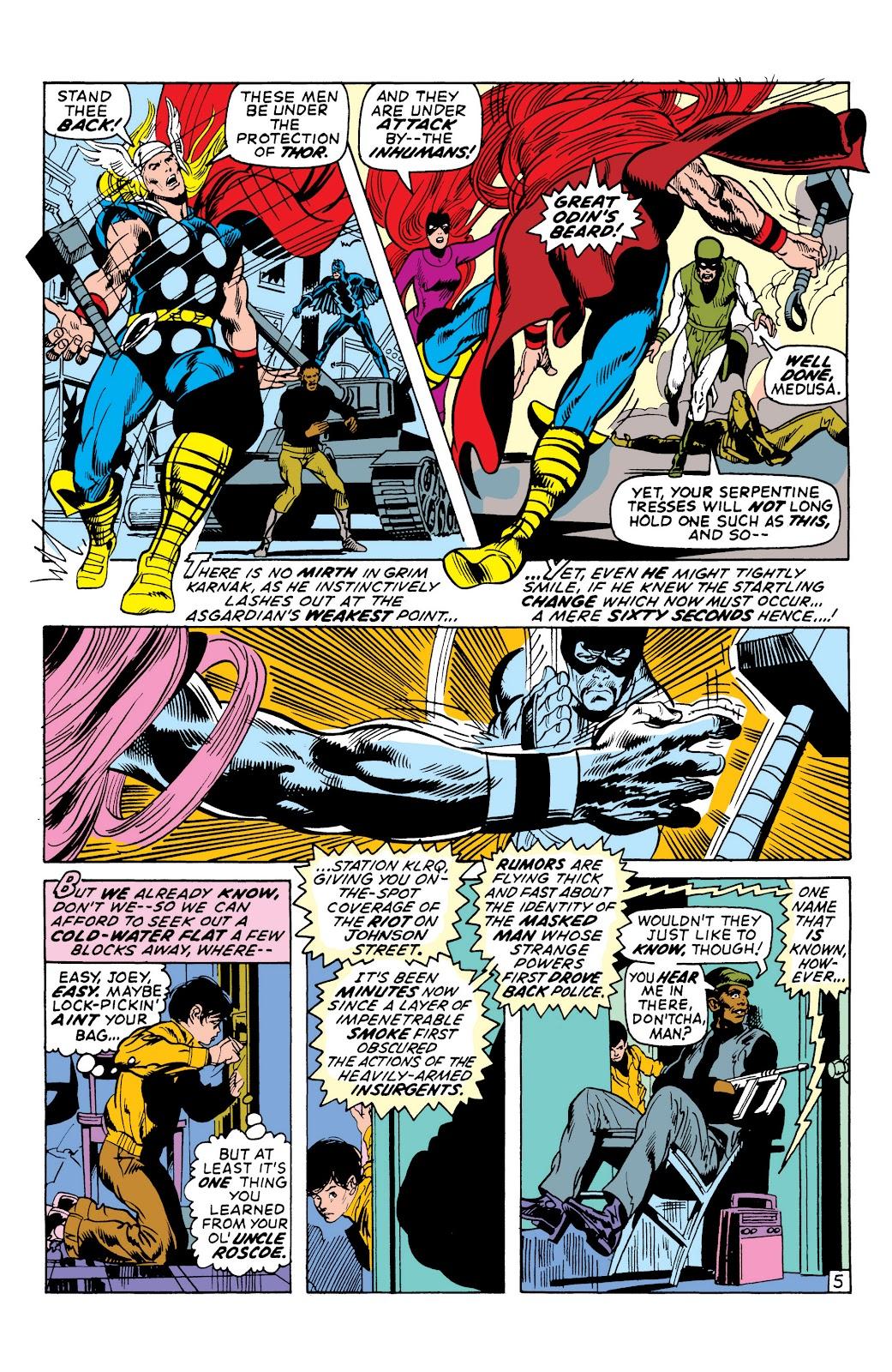Read online Marvel Masterworks: The Inhumans comic -  Issue # TPB 1 (Part 2) - 51