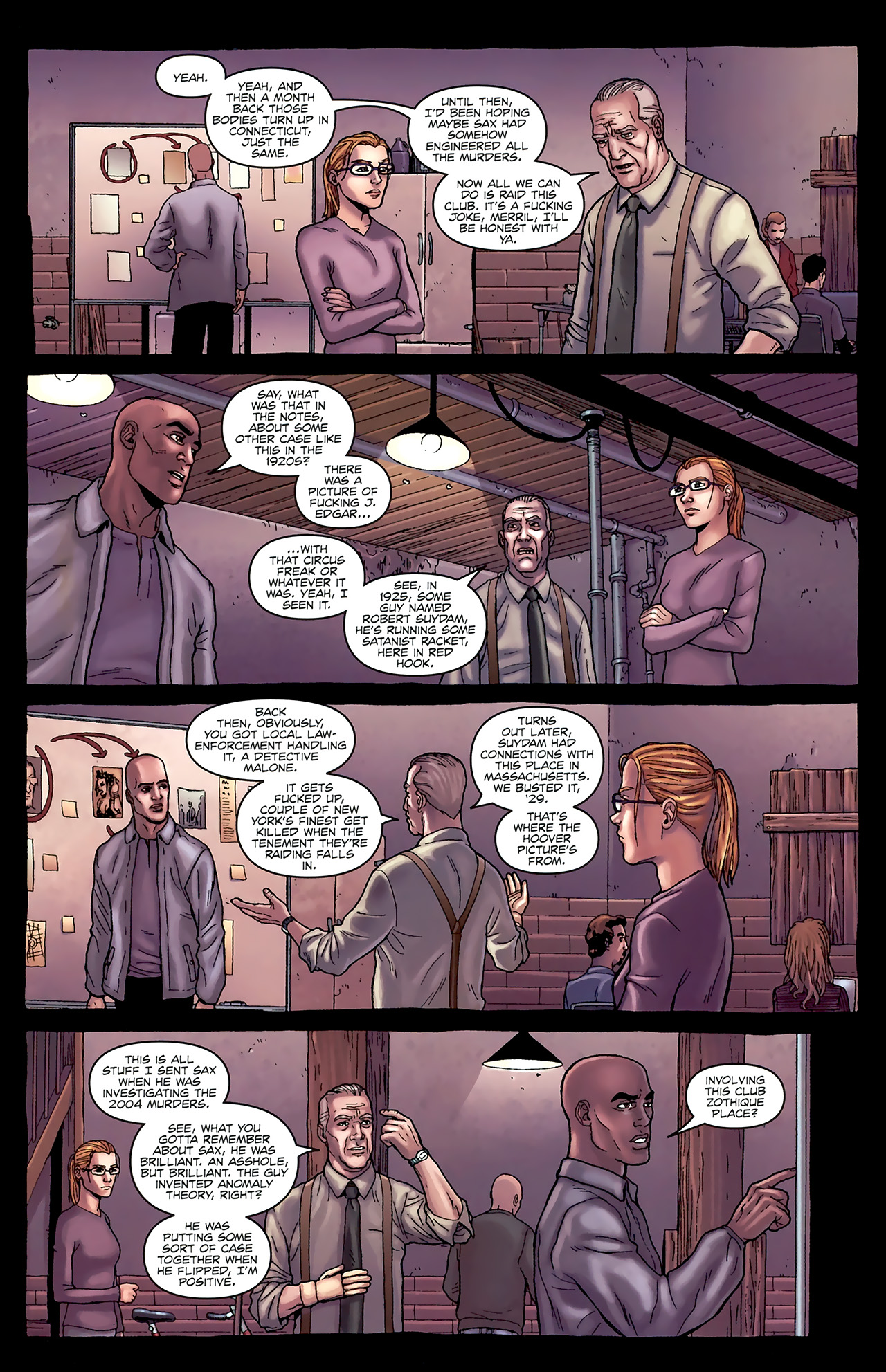 Read online Alan Moore's Neonomicon comic -  Issue #1 - 22