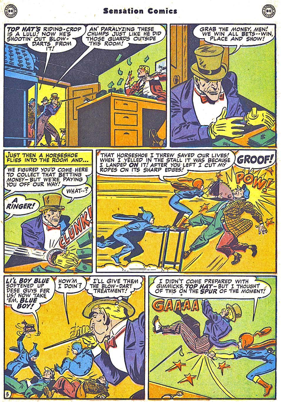 Read online Sensation (Mystery) Comics comic -  Issue #79 - 21