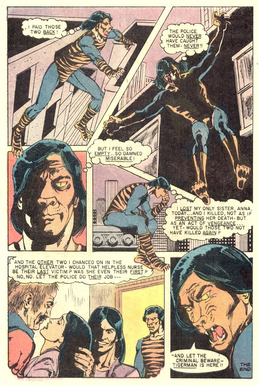 Read online Tiger-Man comic -  Issue #1 - 32