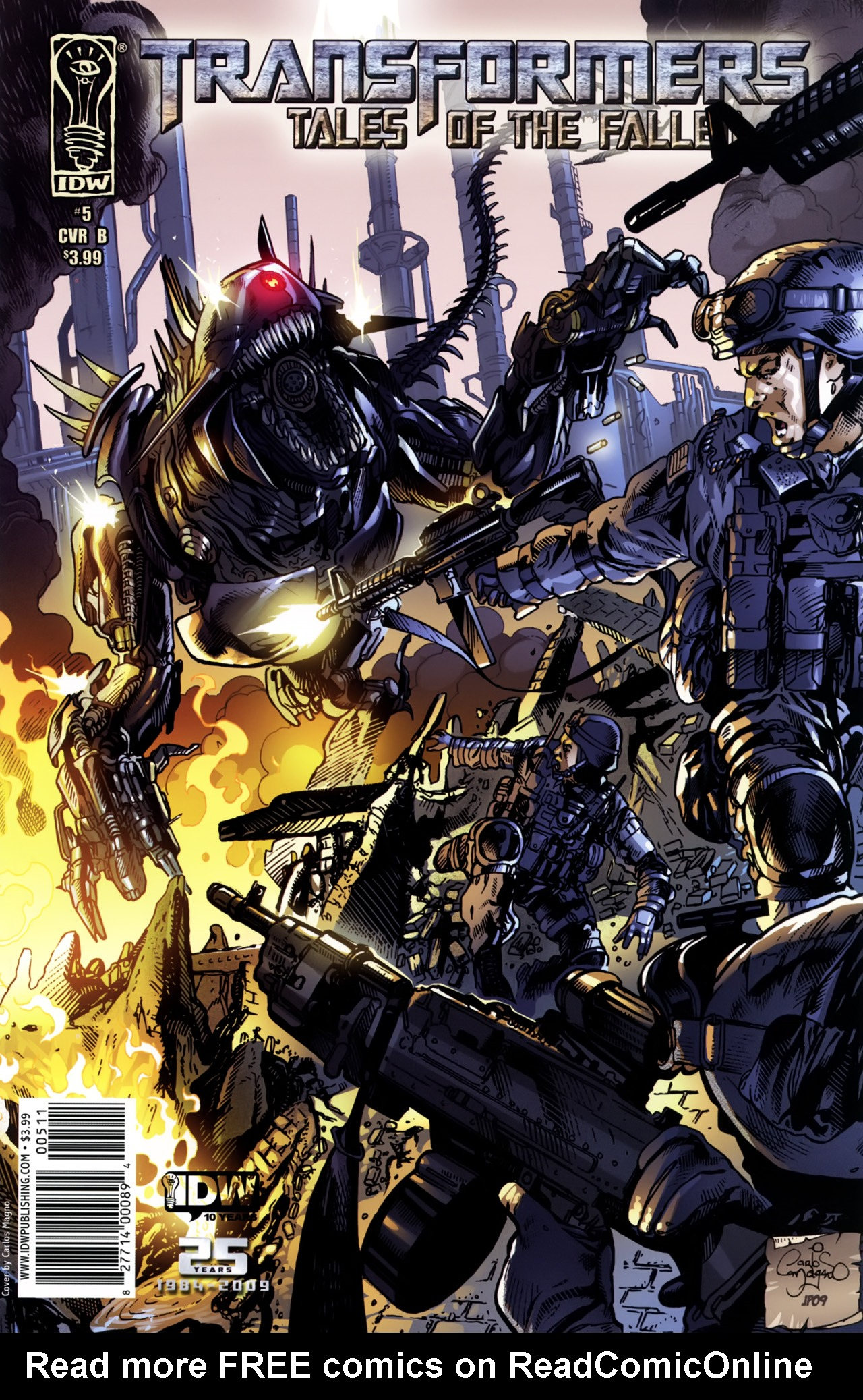 Transformers: Tales of The Fallen 5 Page 1