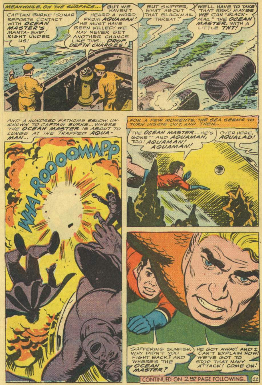 Read online Aquaman (1962) comic -  Issue #29 - 29