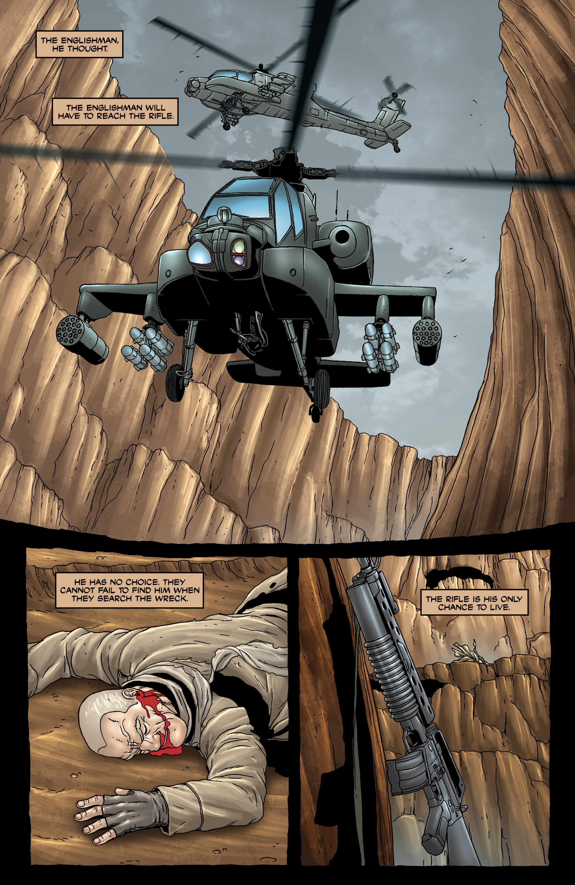 Read online 303 comic -  Issue #3 - 3