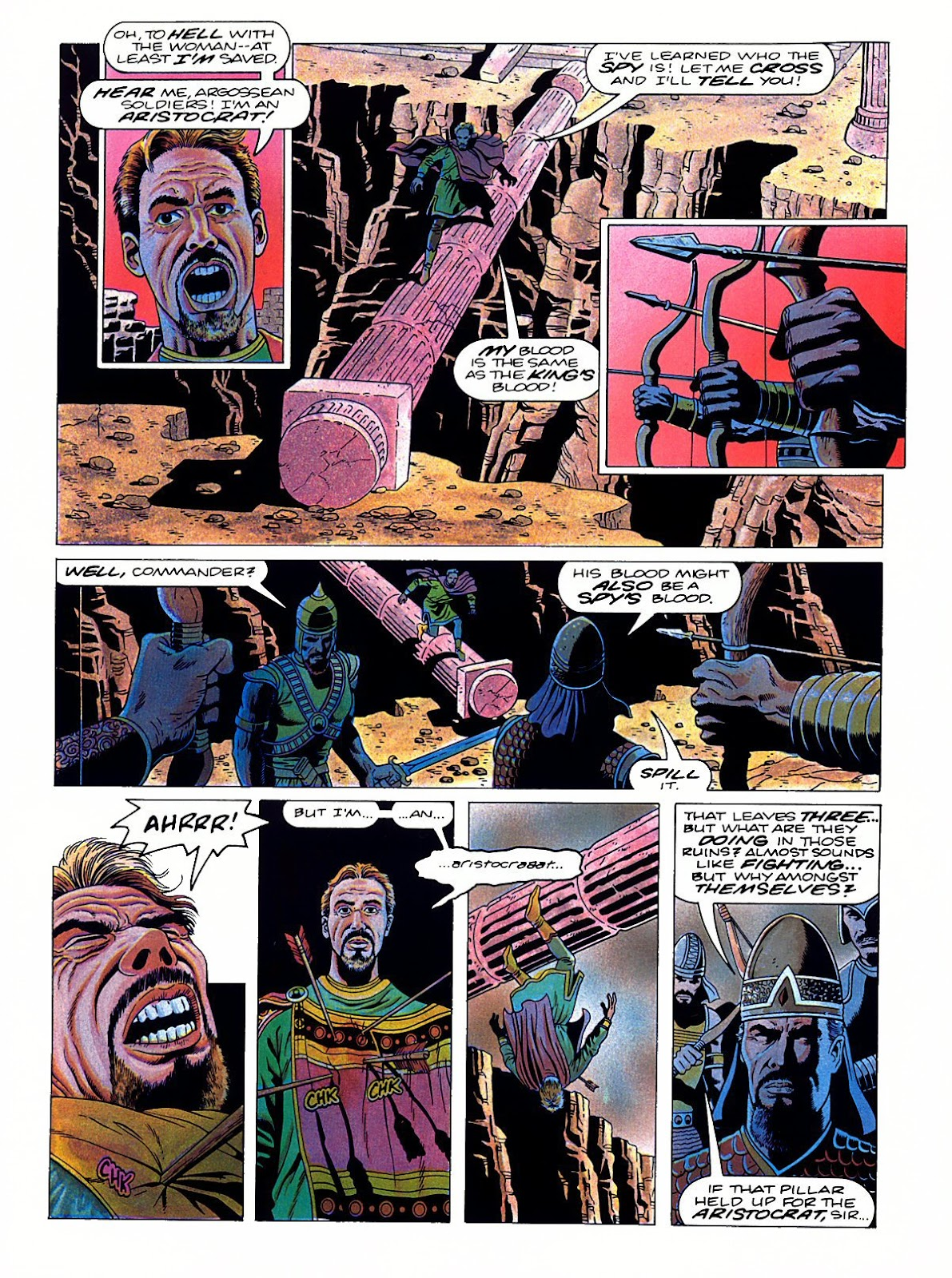Read online Marvel Graphic Novel: Conan the Barbarian: The Skull of Set comic -  Issue # Full - 48