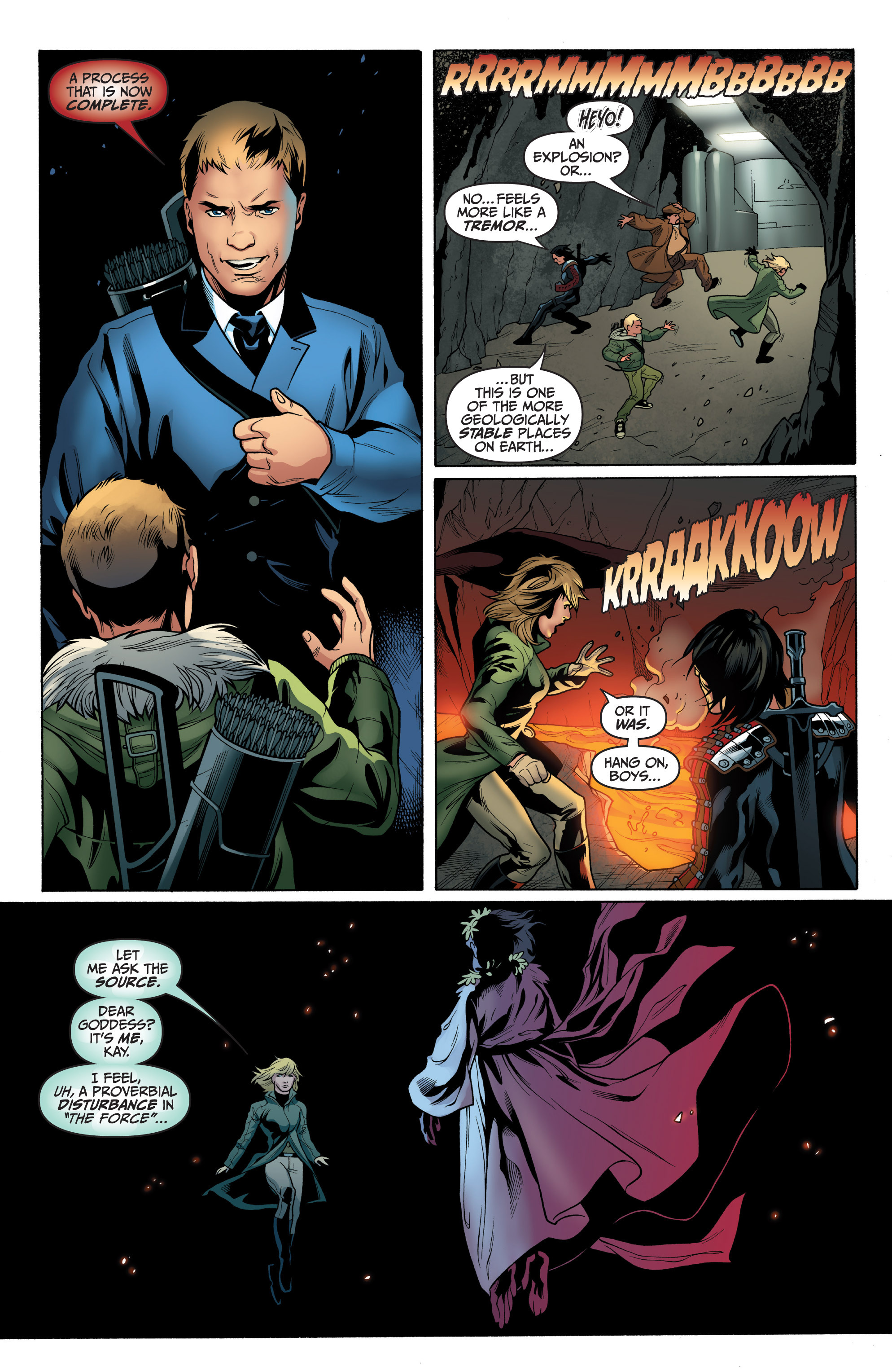 Read online Archer and Armstrong comic -  Issue #8 - 20