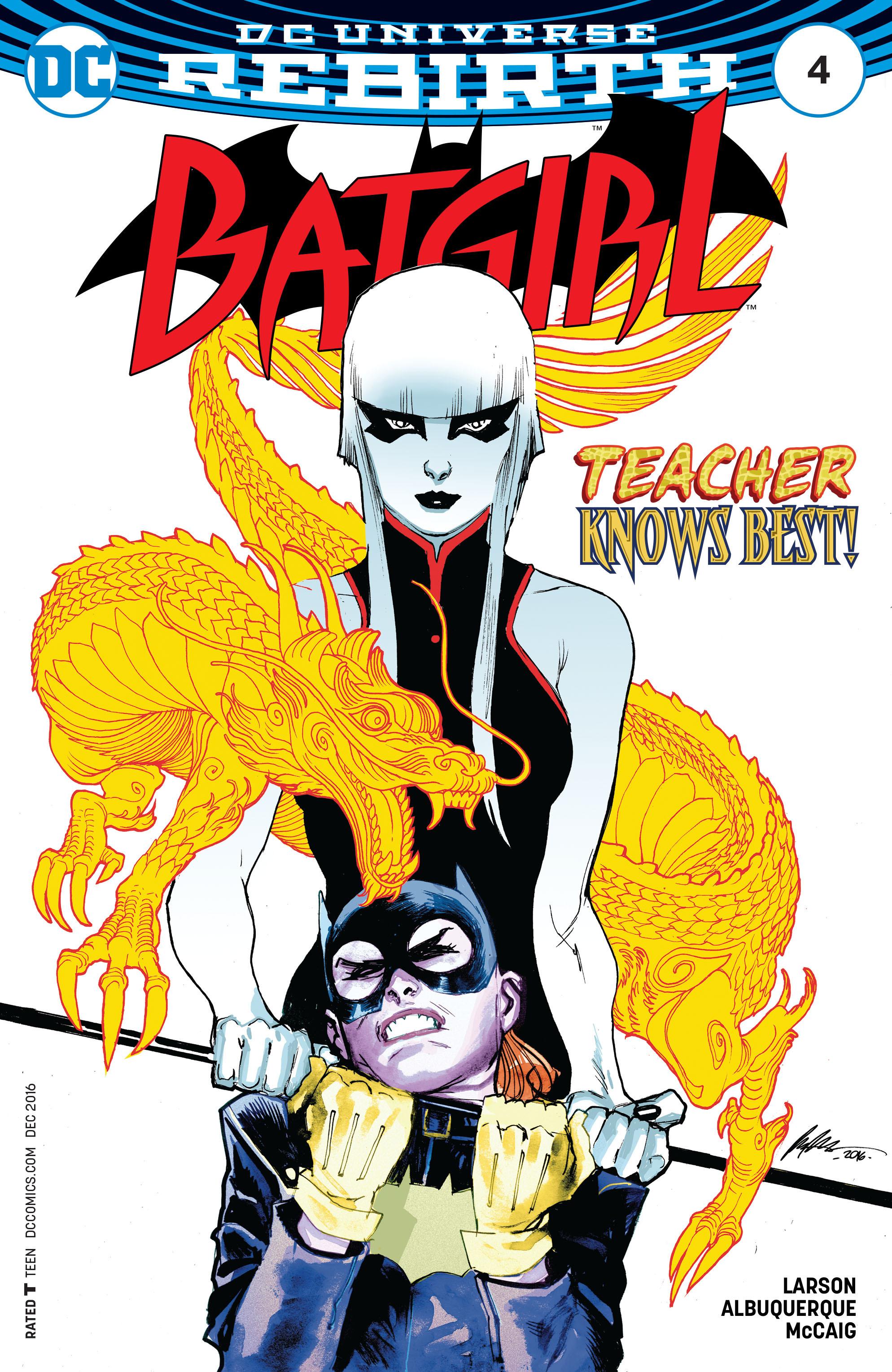 Batgirl (2016) 4 Page 1