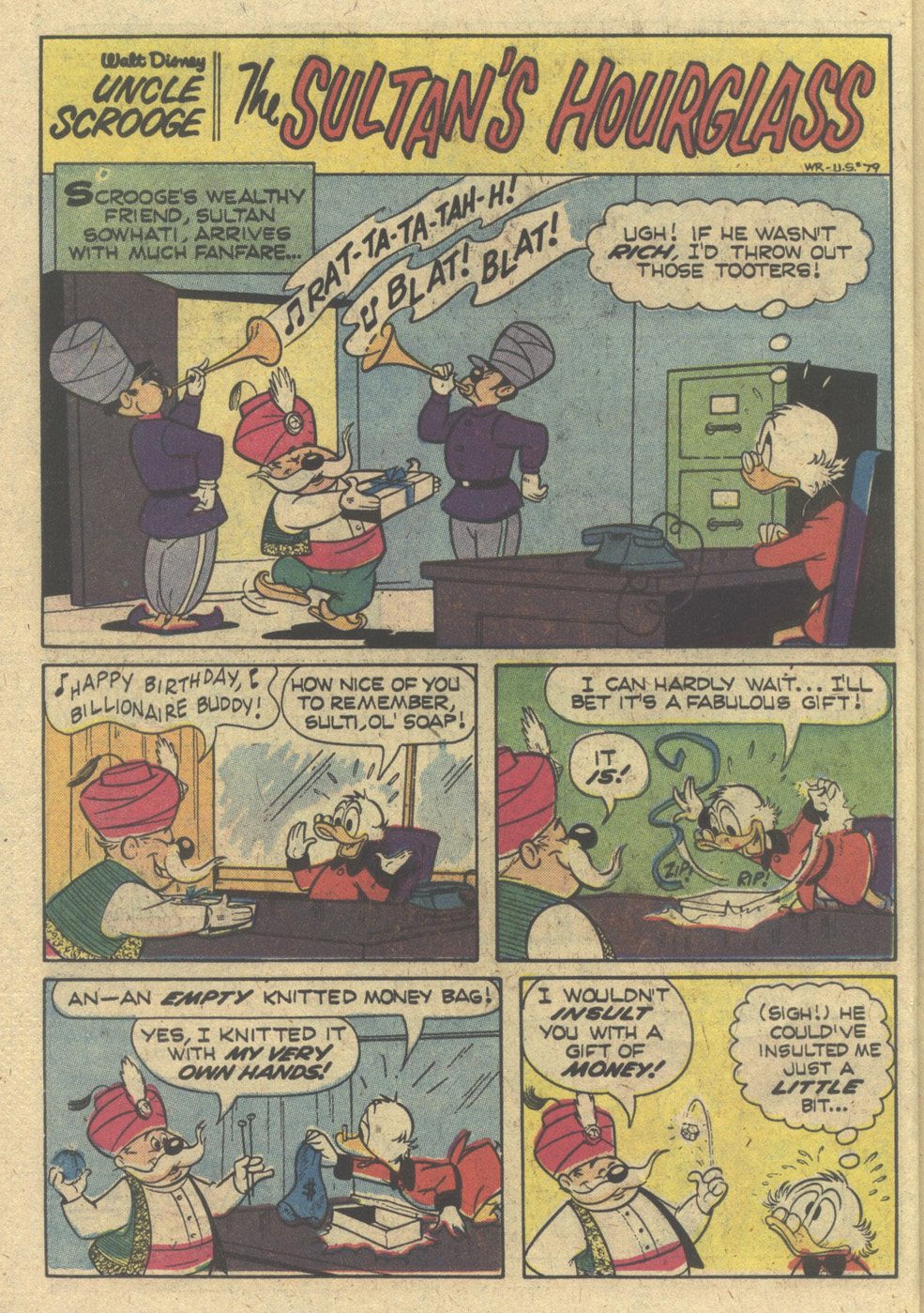Read online Uncle Scrooge (1953) comic -  Issue #168 - 26