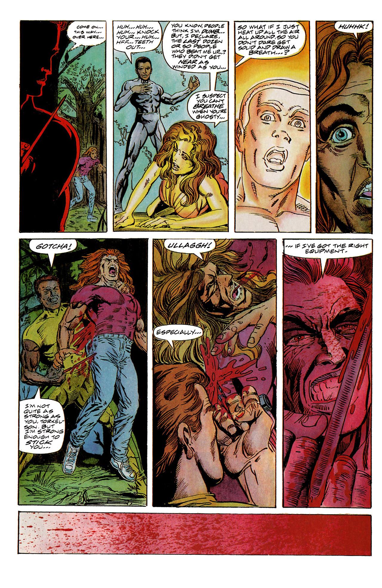 Read online Harbinger (1992) comic -  Issue #6 - 19
