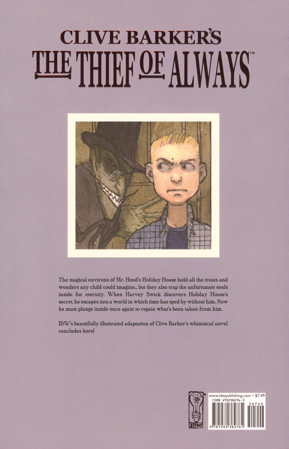 Read online Clive Barker's The Thief Of Always comic -  Issue #3 - 50
