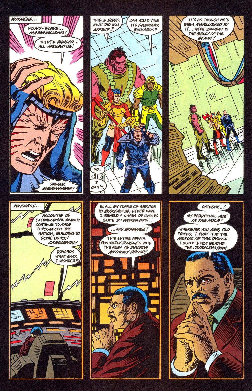 Read online Secret Defenders comic -  Issue #25 - 4