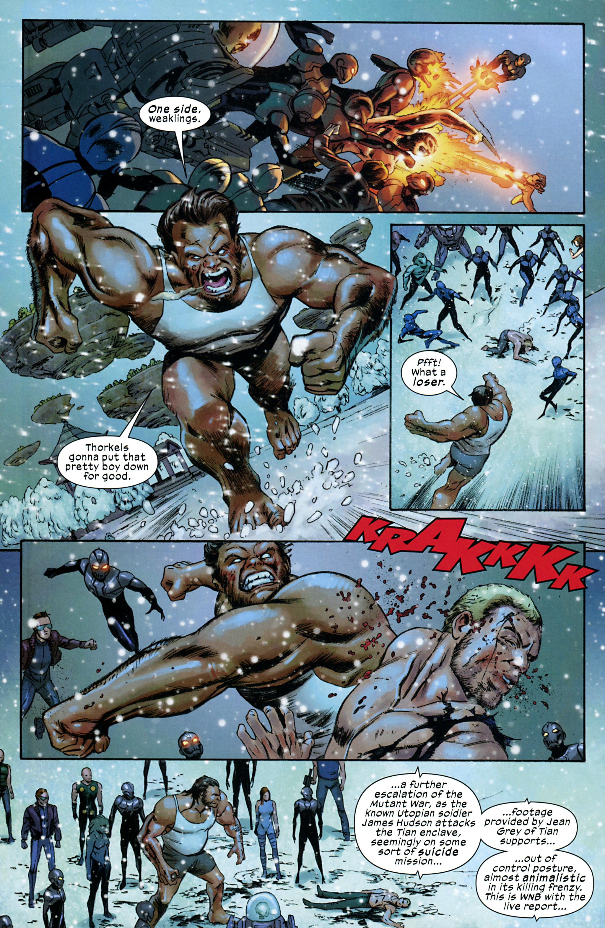 Read online Ultimate Comics X-Men comic -  Issue #32 - 11