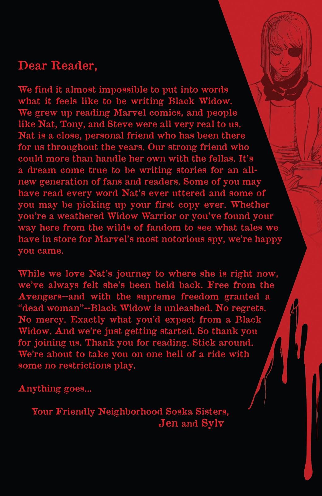 Read online Black Widow (2019) comic -  Issue #1 - 24