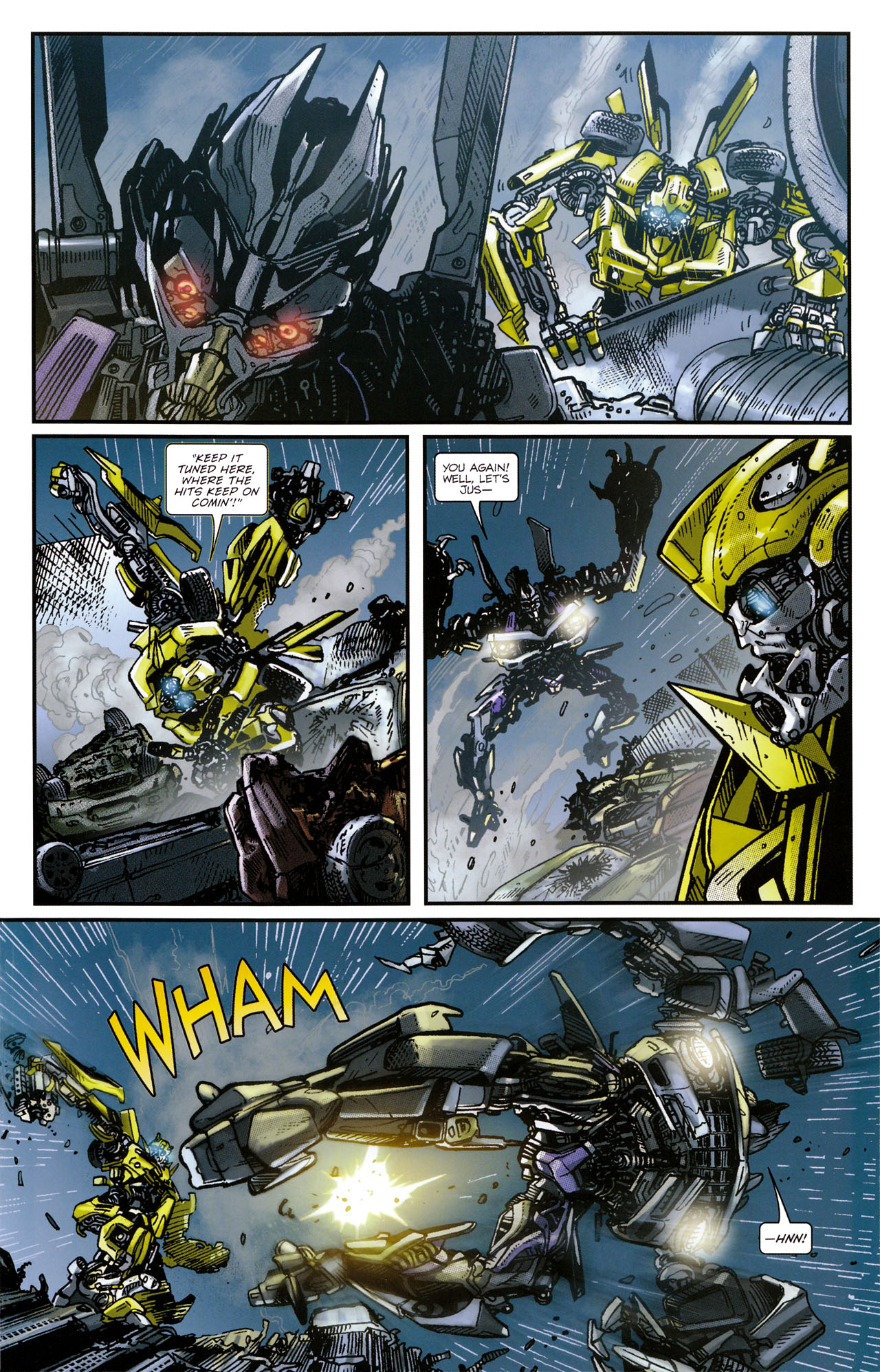 Read online Transformers: Tales of The Fallen comic -  Issue #1 - 17