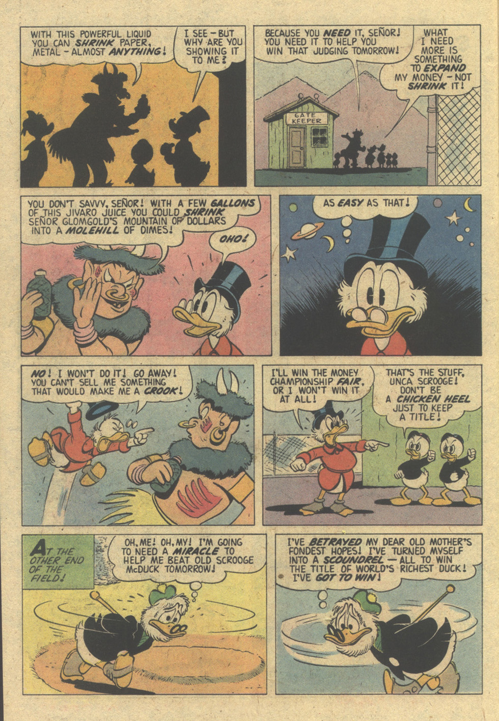 Read online Uncle Scrooge (1953) comic -  Issue #150 - 22