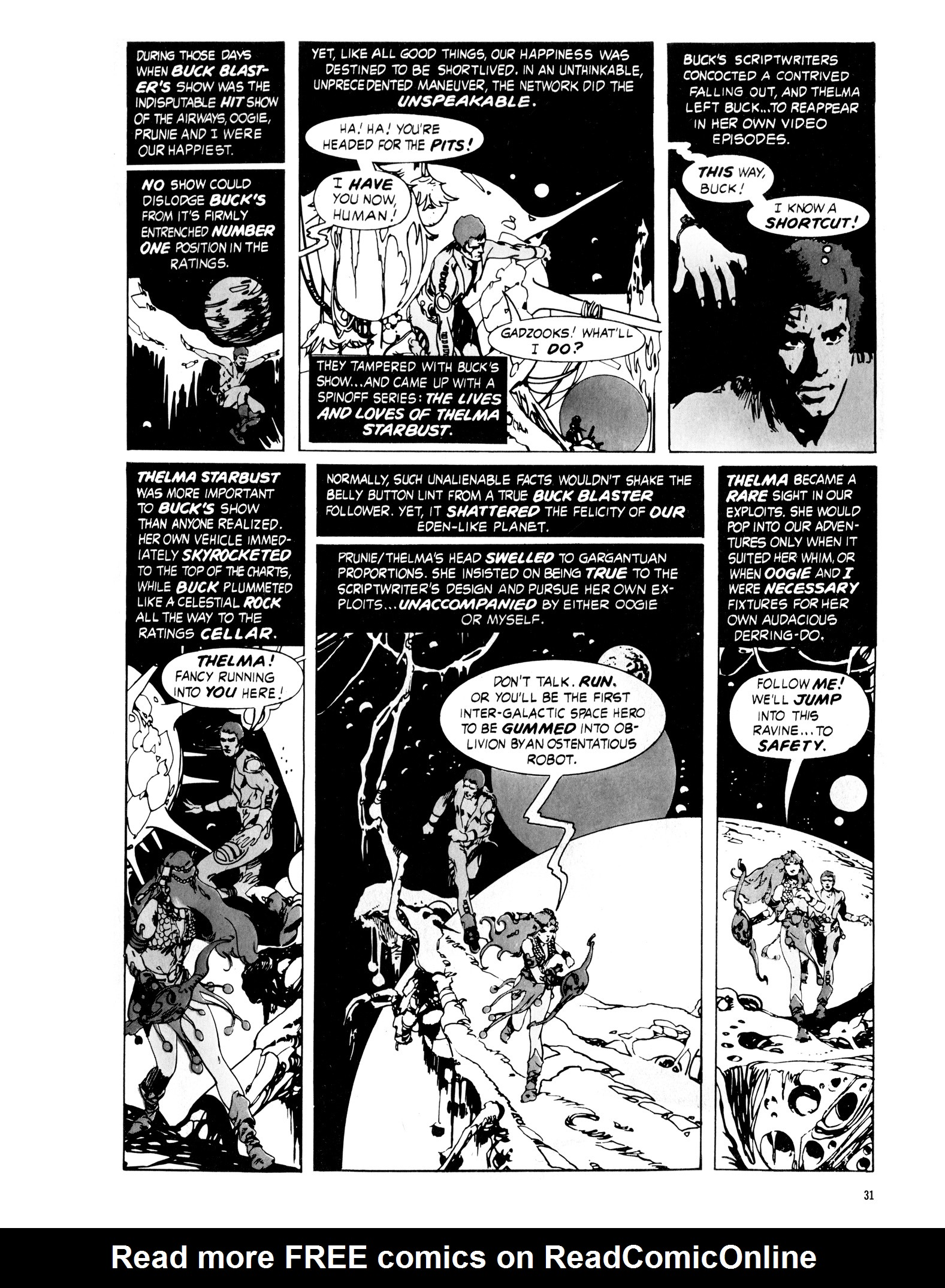 Read online Eerie Archives comic -  Issue # TPB 16 - 32