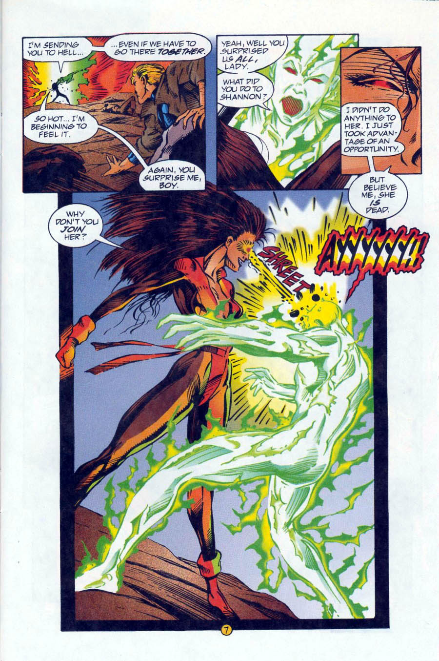 Read online Ex-Mutants comic -  Issue #16 - 7