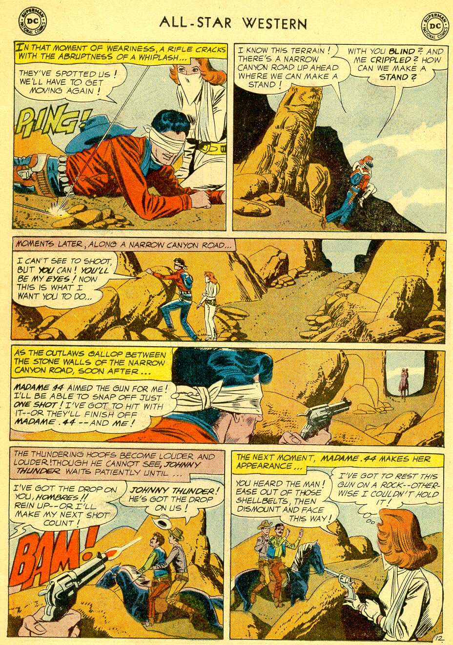 Read online All-Star Western (1951) comic -  Issue #118 - 16