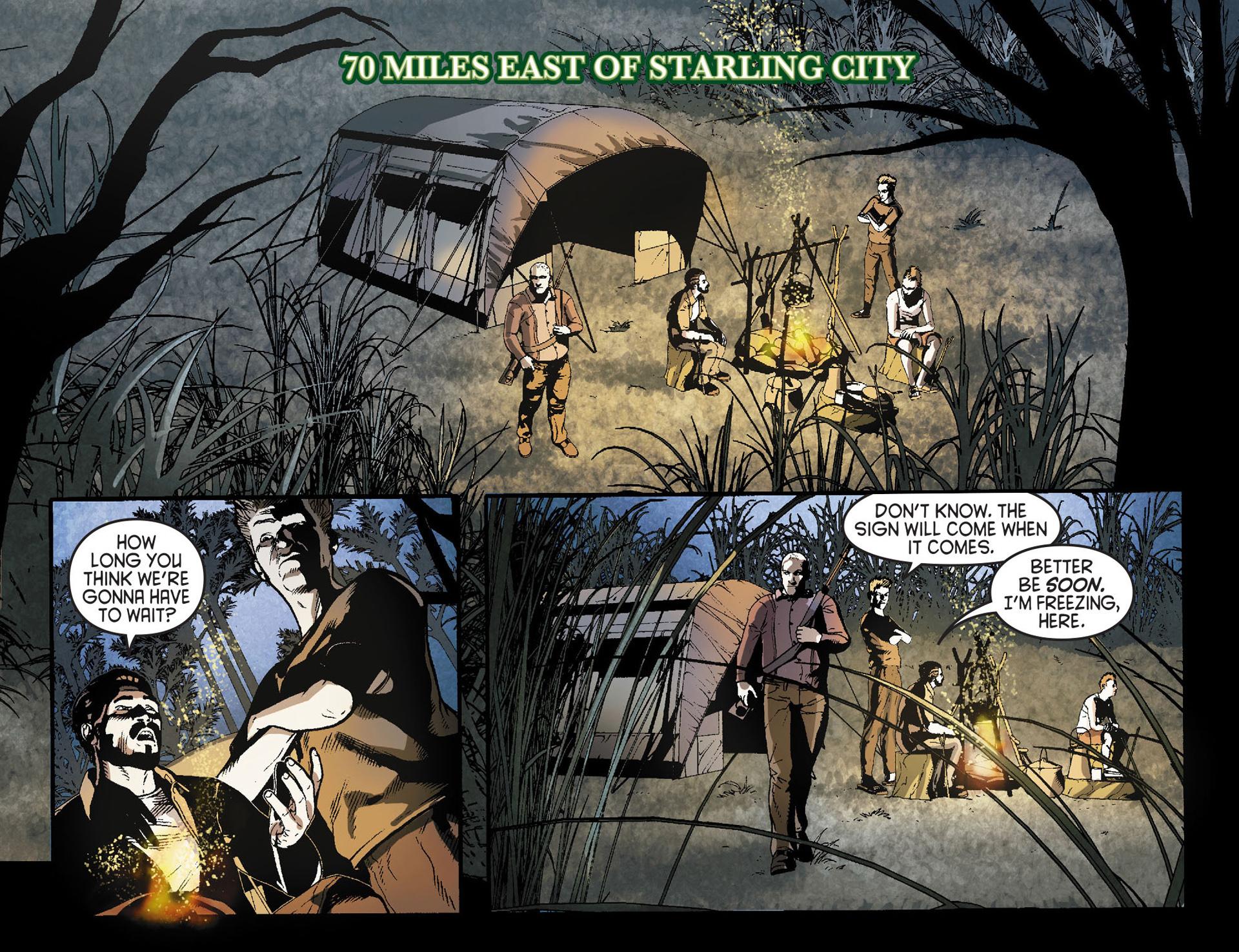 Read online Arrow [II] comic -  Issue #23 - 3