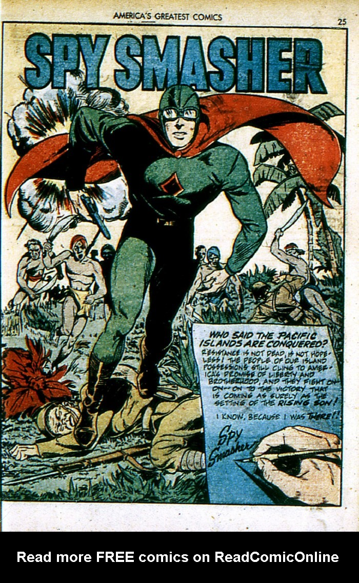 Read online America's Greatest Comics comic -  Issue #4 - 25