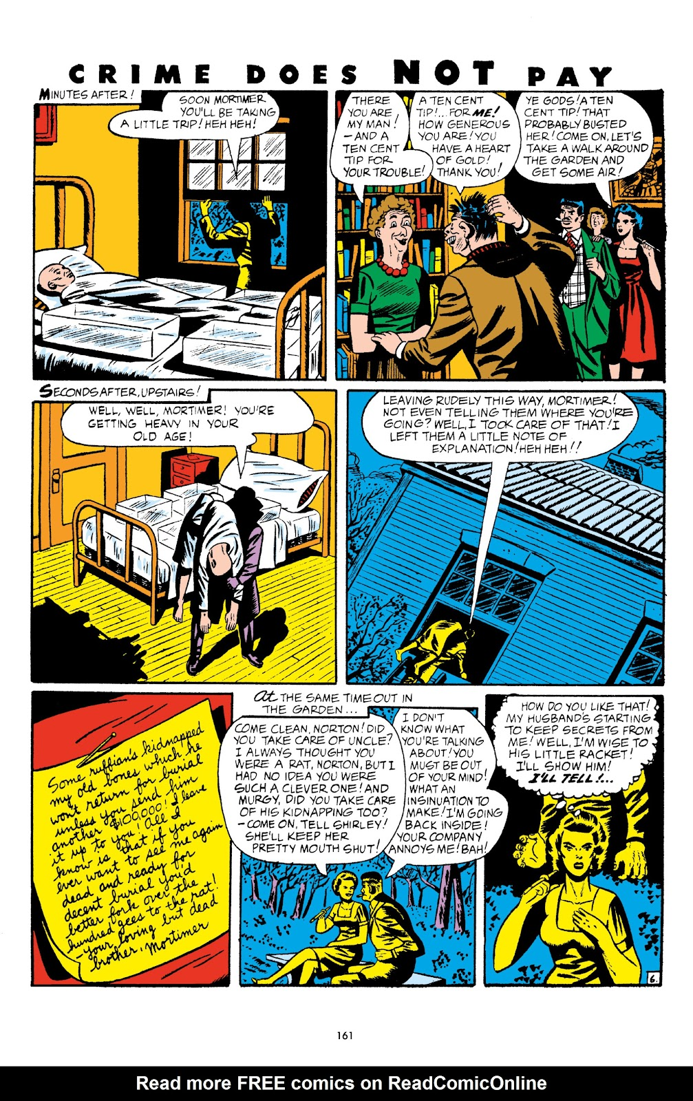 Read online Crime Does Not Pay Archives comic -  Issue # TPB 5 (Part 2) - 61