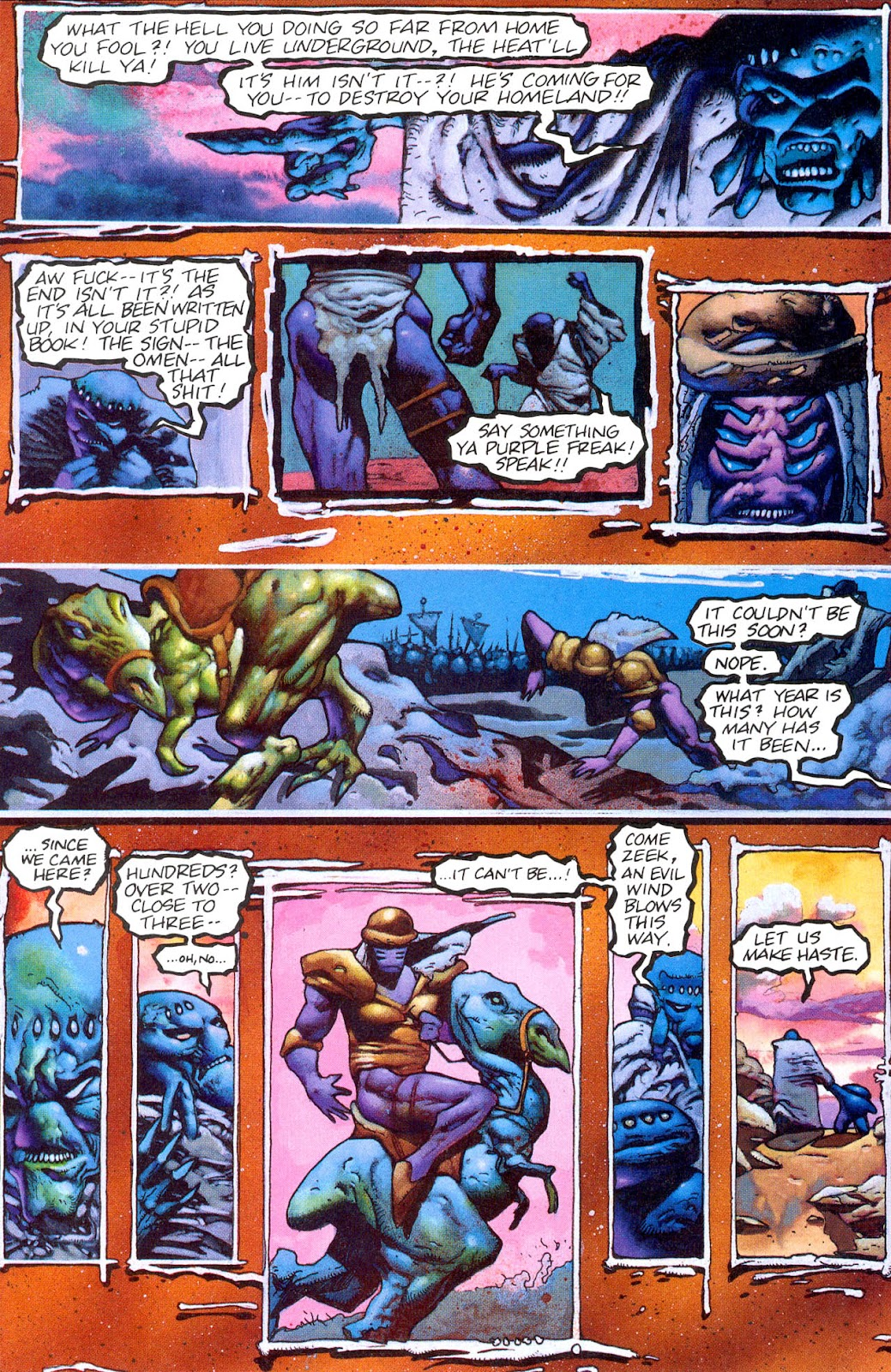 Read online Melting Pot comic -  Issue #3 - 27