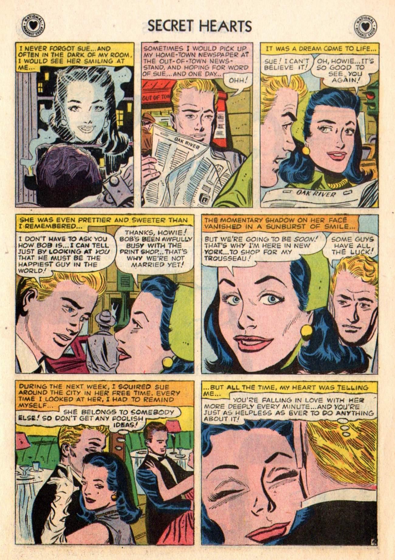 Read online Secret Hearts comic -  Issue #48 - 15