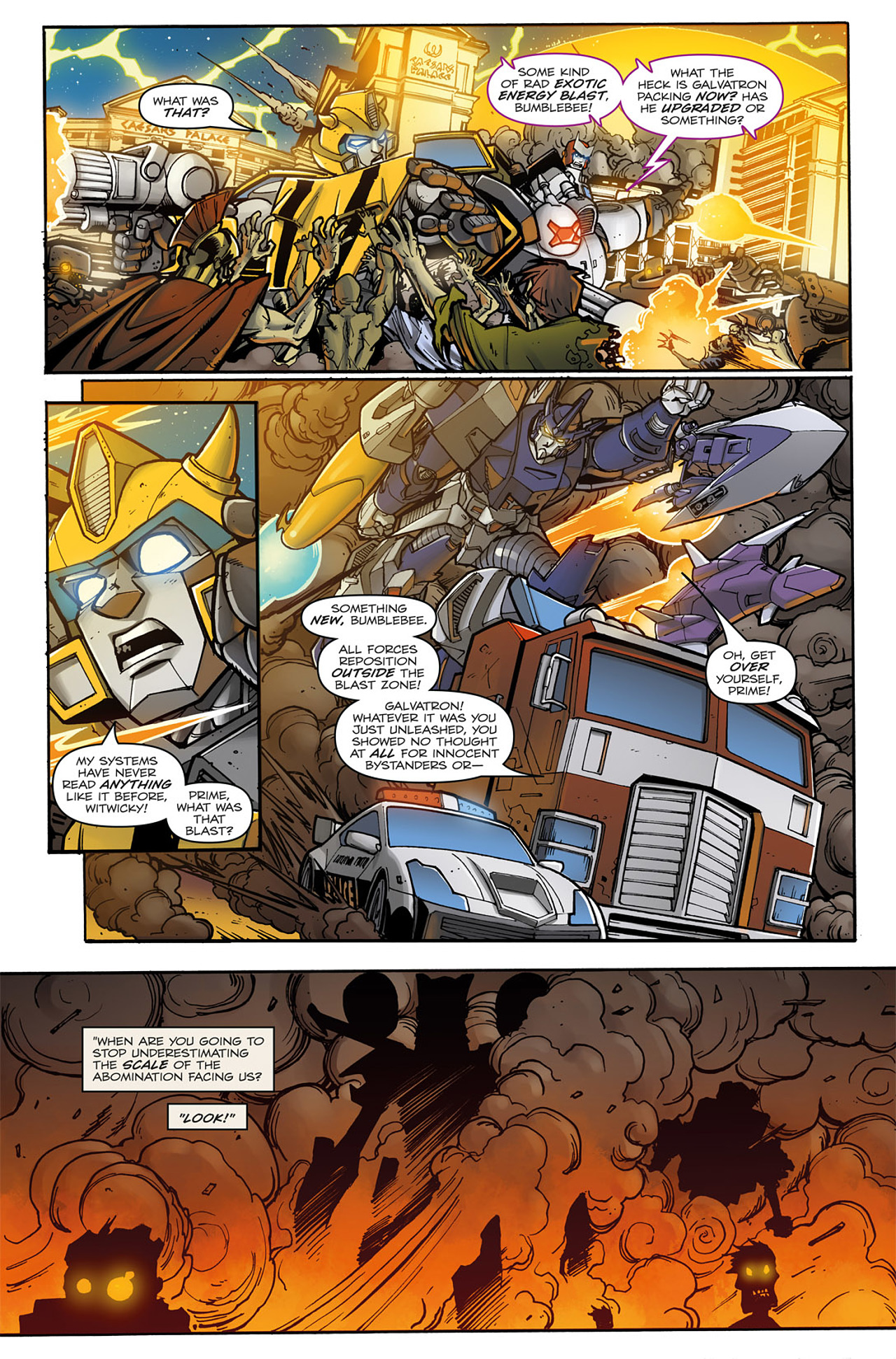 Read online Transformers: Infestation comic -  Issue #2 - 14