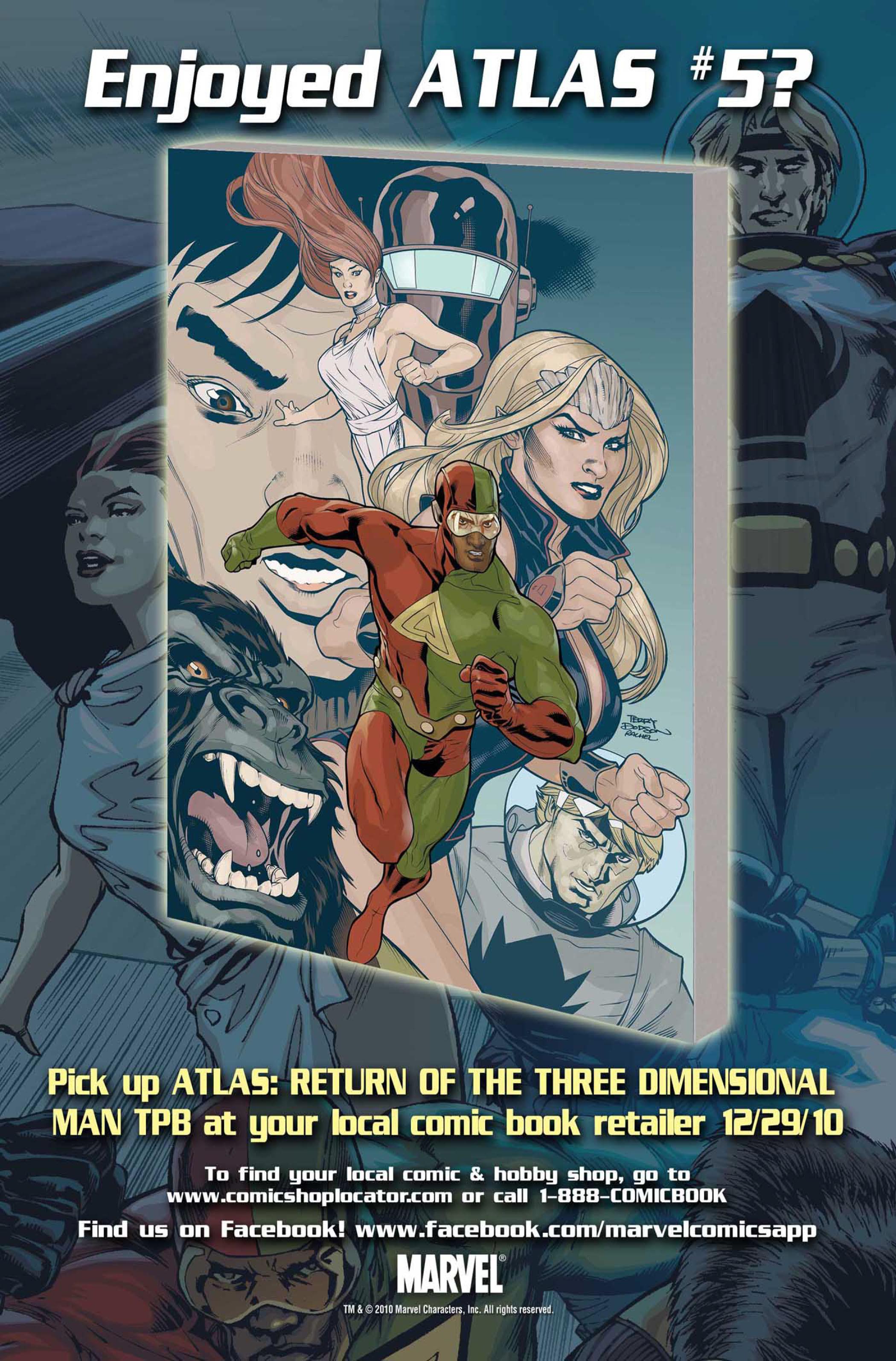 Read online Atlas comic -  Issue #5 - 28