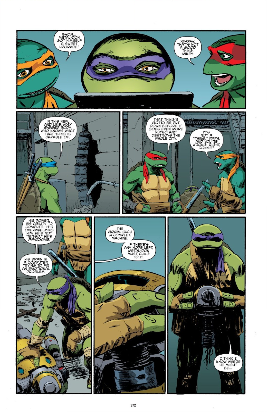 Read online Teenage Mutant Ninja Turtles: The IDW Collection comic -  Issue # TPB 8 (Part 4) - 70