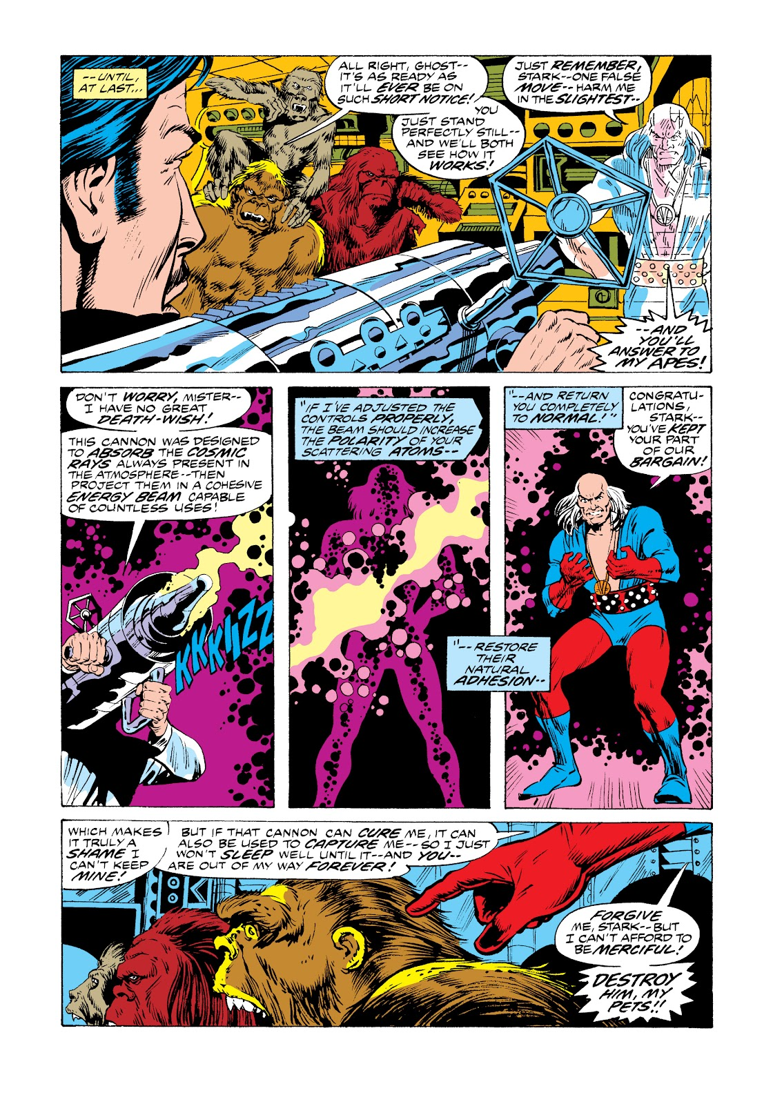 Read online Marvel Masterworks: The Invincible Iron Man comic -  Issue # TPB 11 (Part 1) - 37