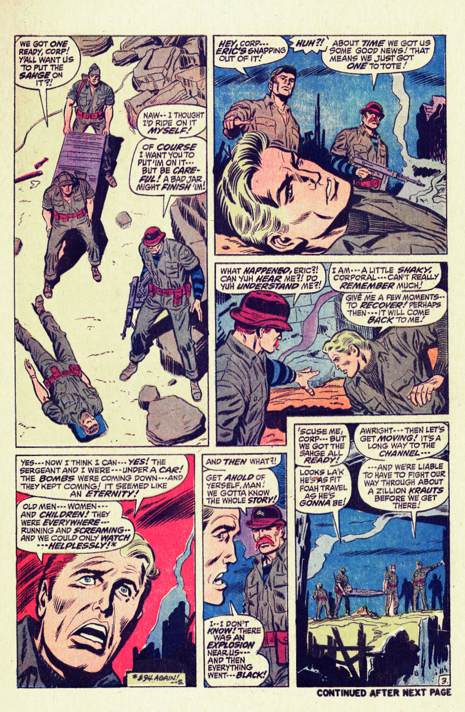 Read online Sgt. Fury comic -  Issue #96 - 5
