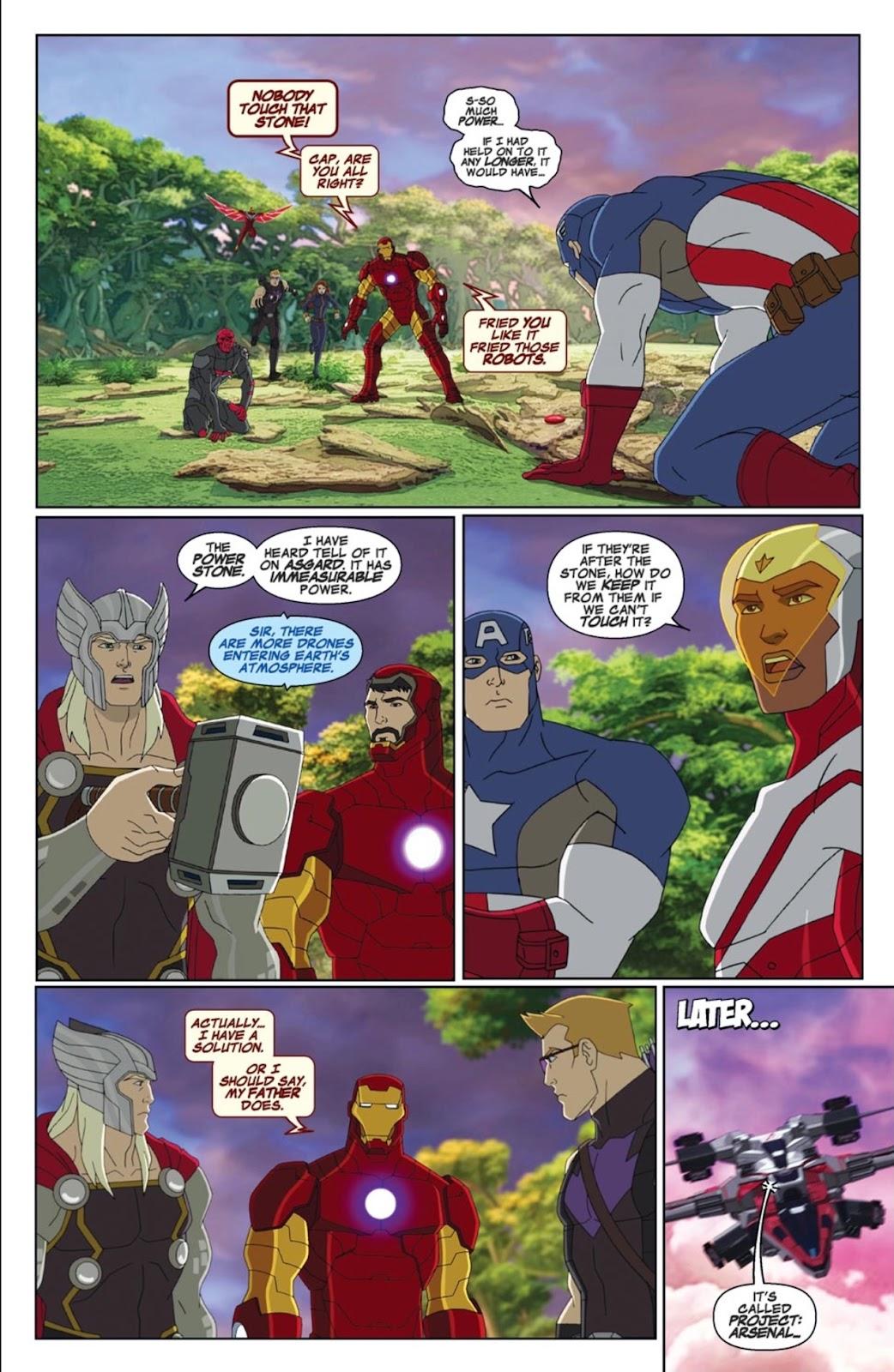 Read online Marvel Universe Avengers Assemble Season 2 comic -  Issue #1 - 10