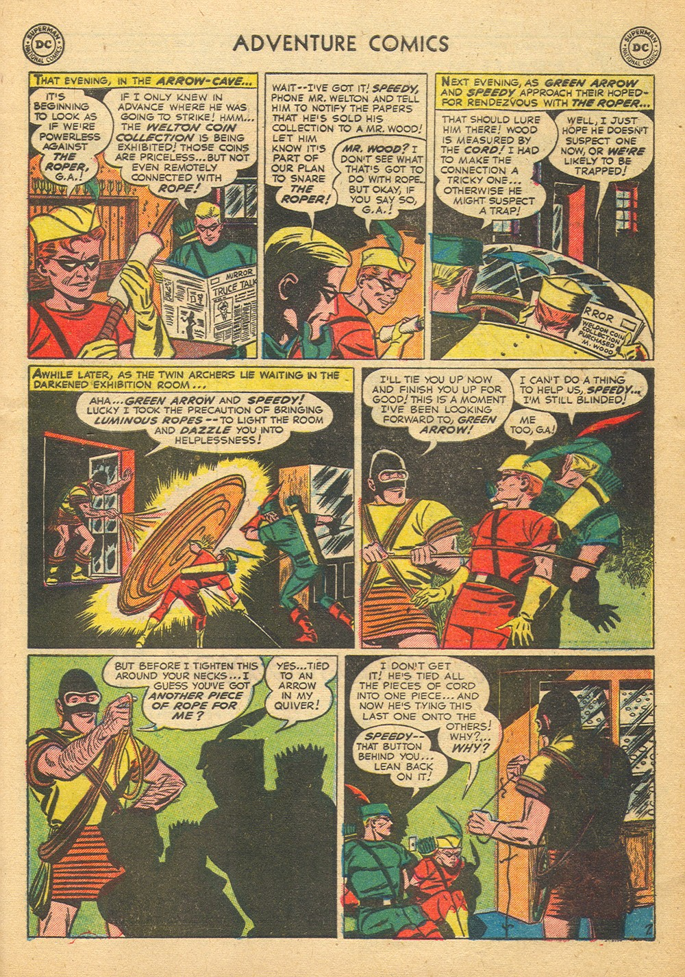 Read online Adventure Comics (1938) comic -  Issue #176 - 41