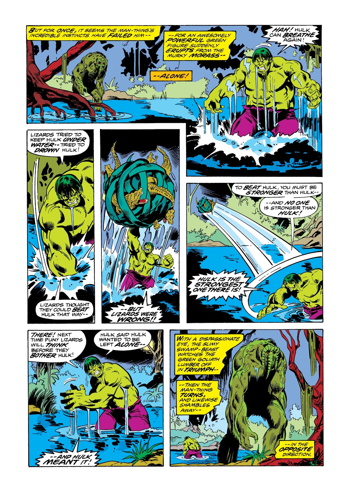 Read online Marvel Masterworks: The Incredible Hulk comic -  Issue # TPB 12 (Part 1) - 13
