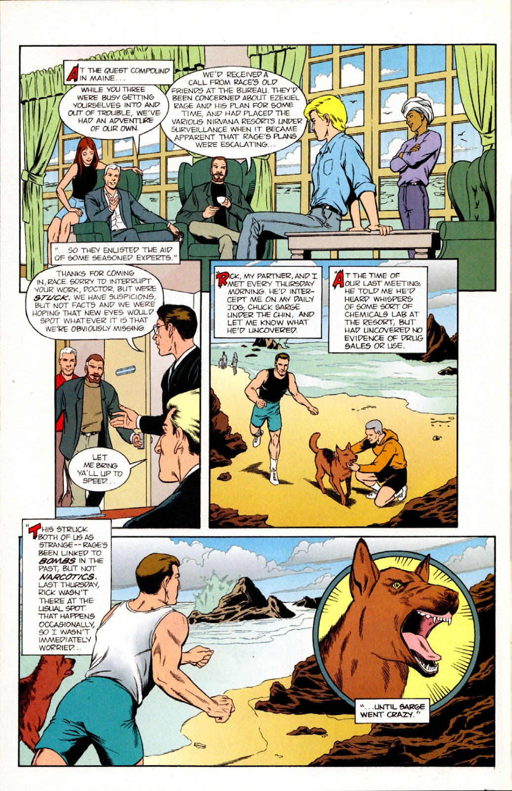 Read online The Real Adventures of Jonny Quest comic -  Issue #10 - 10