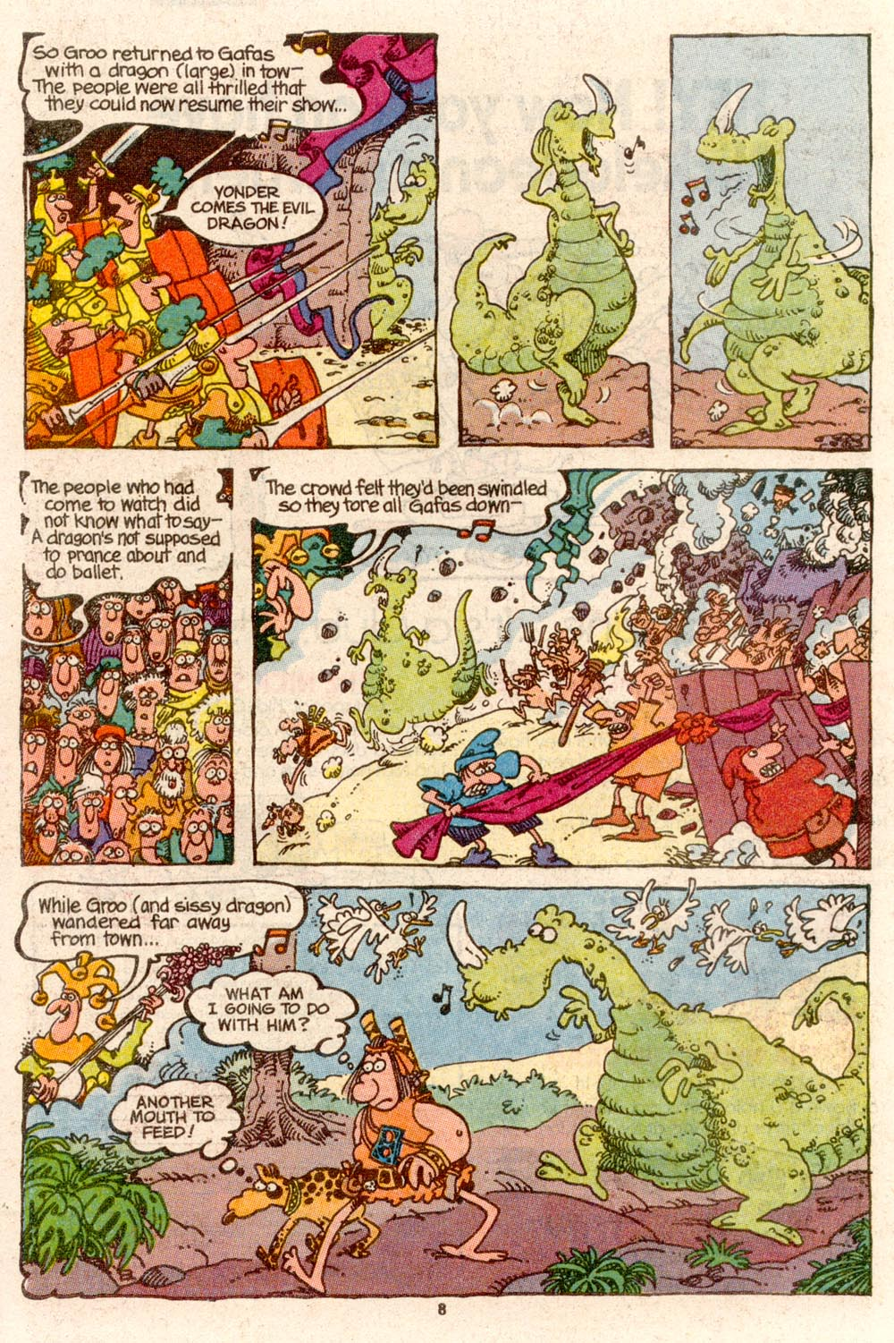 Read online Sergio Aragonés Groo the Wanderer comic -  Issue #68 - 6