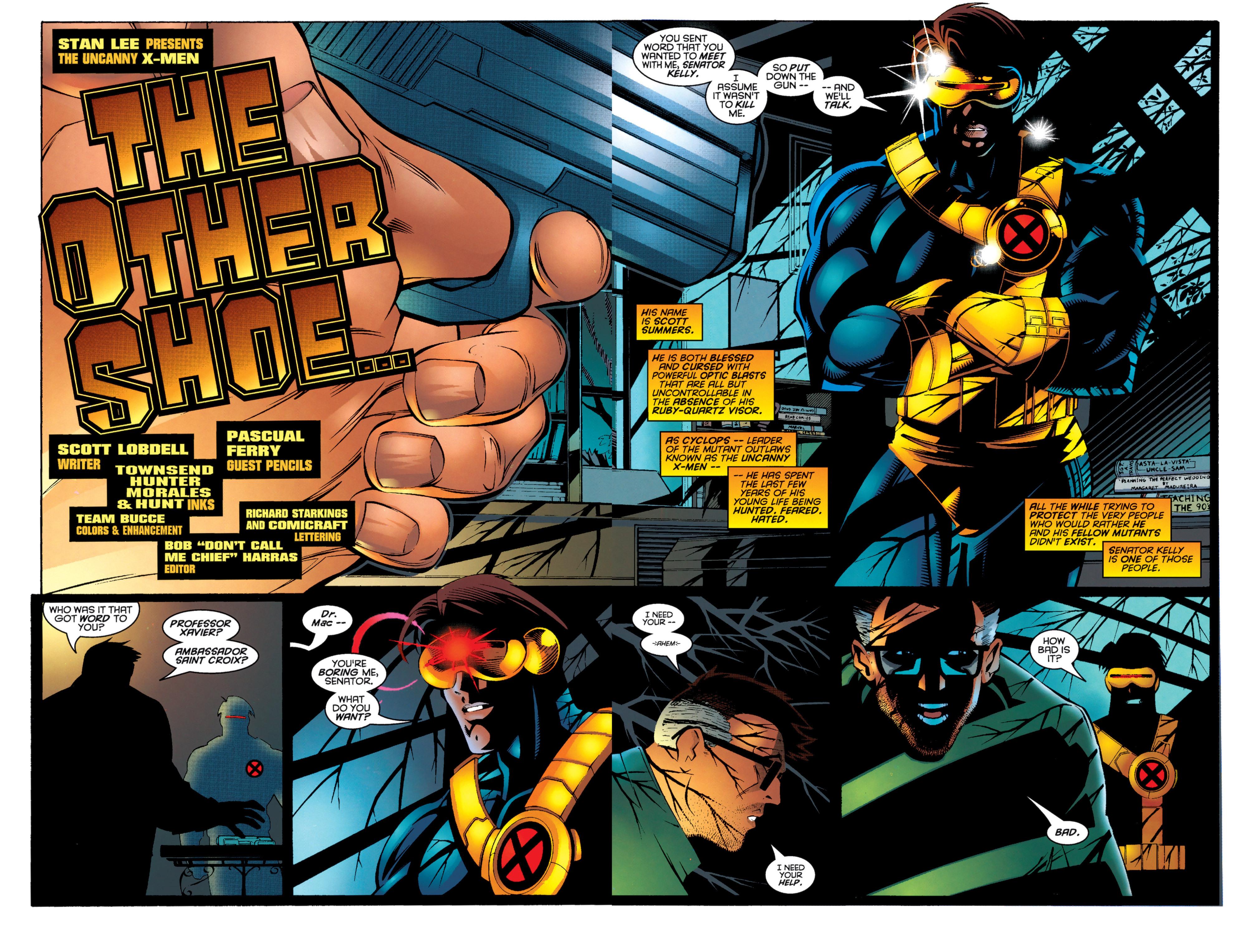 Read online Uncanny X-Men (1963) comic -  Issue #333 - 3
