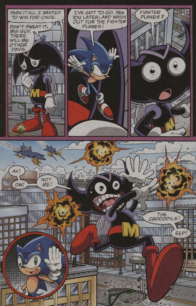 Read online Sonic X comic -  Issue #39 - 26