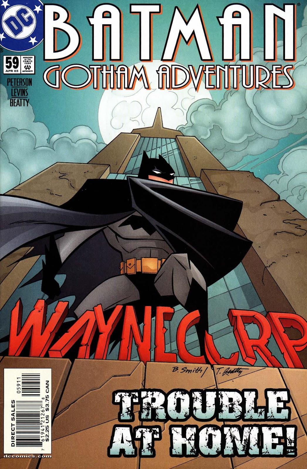 Batman: Gotham Adventures issue 59 - Page 1