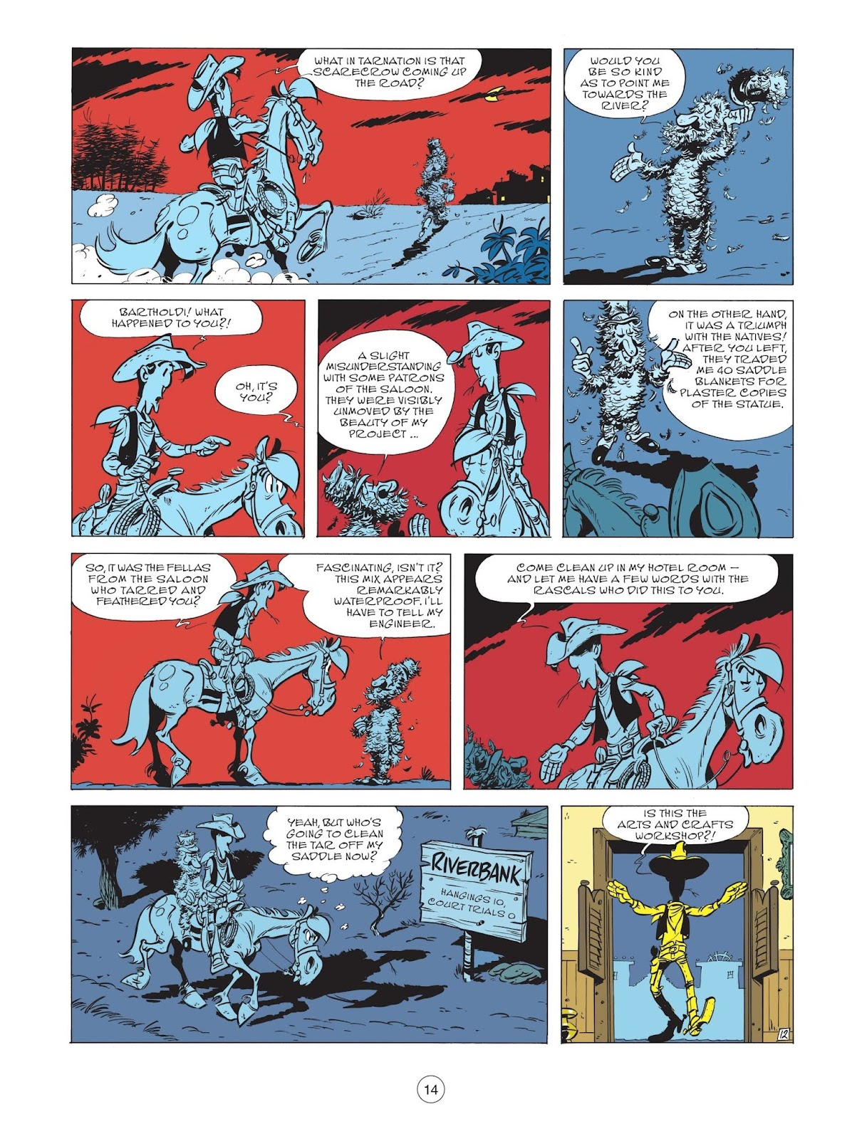 A Lucky Luke Adventure issue 71 - Page 16