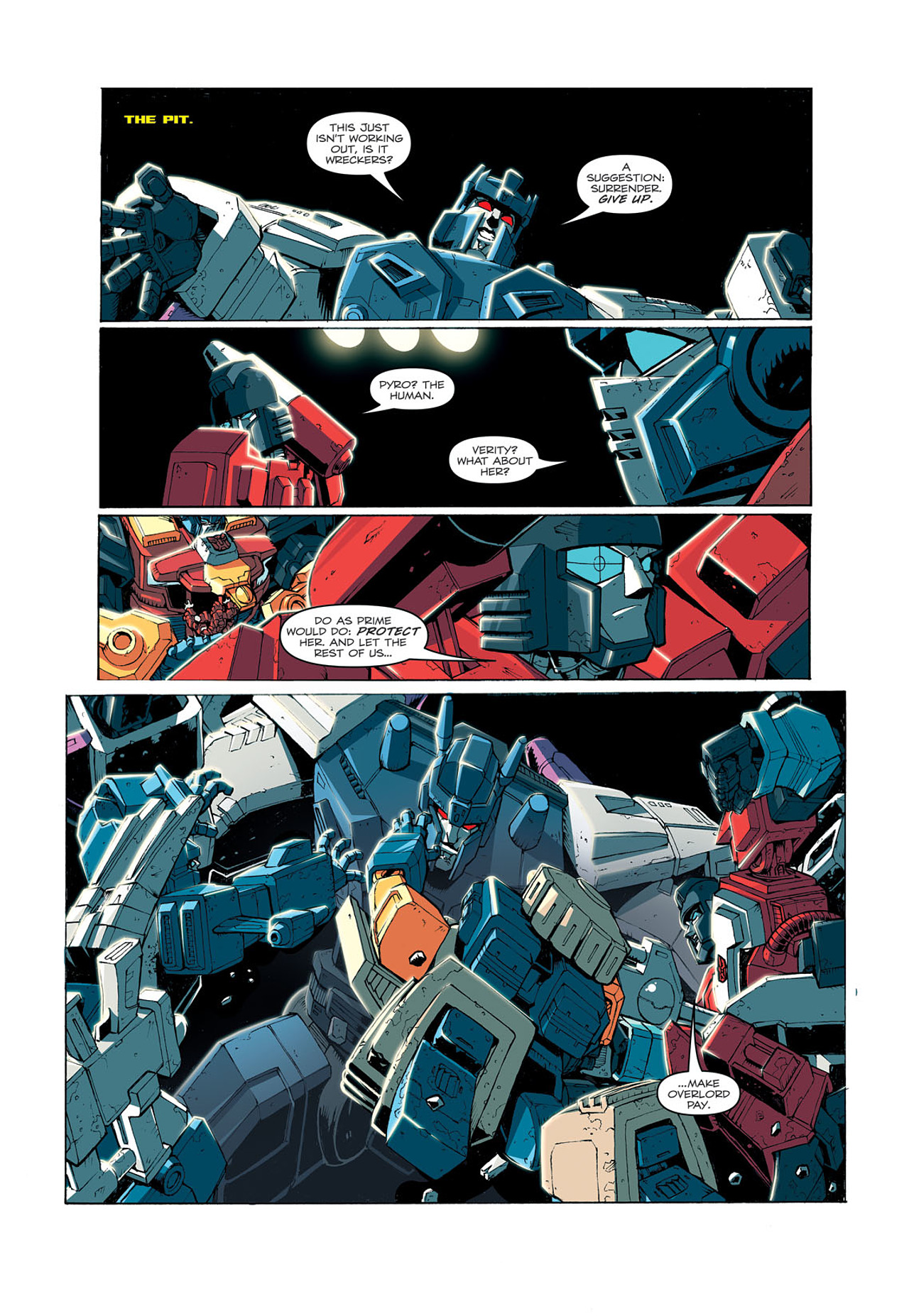 Read online Transformers: Last Stand of The Wreckers comic -  Issue #3 - 12