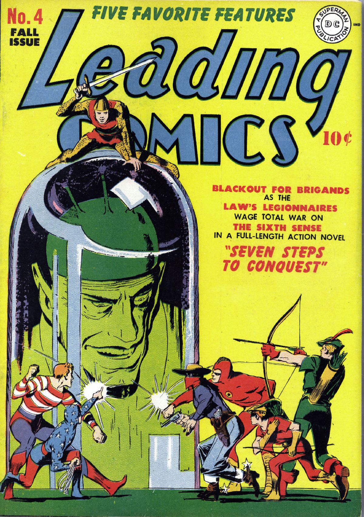 Leading Comics 4 Page 1