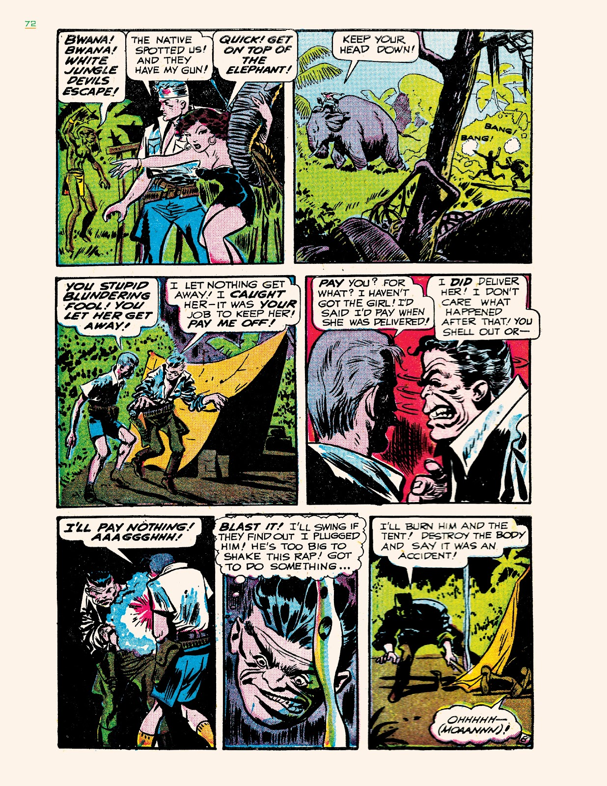 Read online Jungle Girls comic -  Issue # TPB (Part 1) - 72