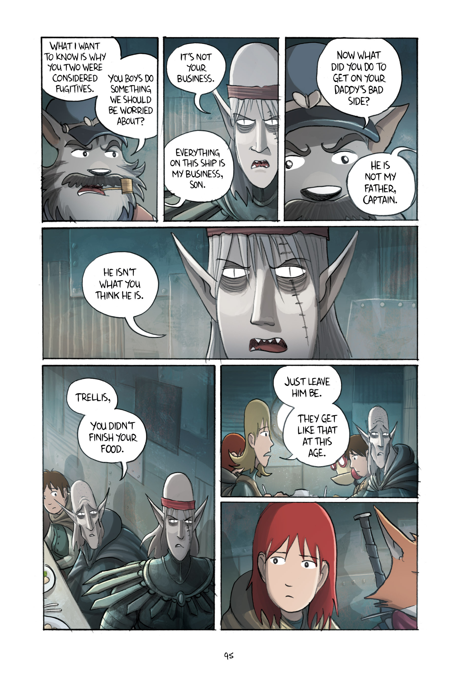Read online Amulet comic -  Issue #3 - 93